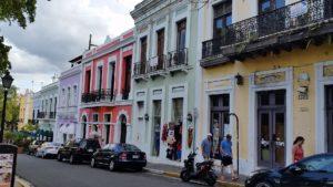 Straße Puerto Rico